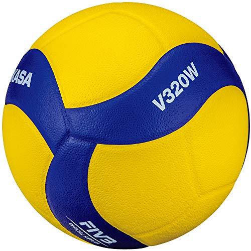 MIKASA Unisex– Erwachsene V320W Volleyball, blau, 5