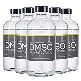 DMSO Dimethyl Sulfoxide 5 Glass 8 oz Bottle Special 99.995% Pharma Grade