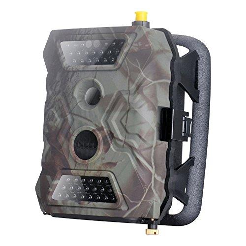 Tactical Digital Cámara de caza gprs mms Detector de movimiento PIR Alarma Sensor de Imagen de 5.0 m Pixeles Color CMOS Visión Nocturna