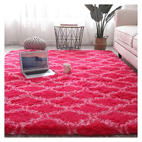 Alfombras de piel suave Shaggy Alfombras para sala de estar 4 cm Pelo de pelo Largos Alfombras para el hogar Piso de alfombra Decoración suave 140x200cm Alfombra grande de alfombras para sala de estar
