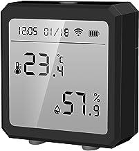 Thermometer En Hygrometer Zijn Compatibel Met Alexa En Google Assistent Wifi Temperatuur En Vochtigheid Sensor Met Alarm I...