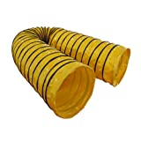Cool Runners Pro Grip 15' 19oz PVC Competiton 4' Pitch Agility Tunnel with Super PVC Raised Traction Grip, Yellow