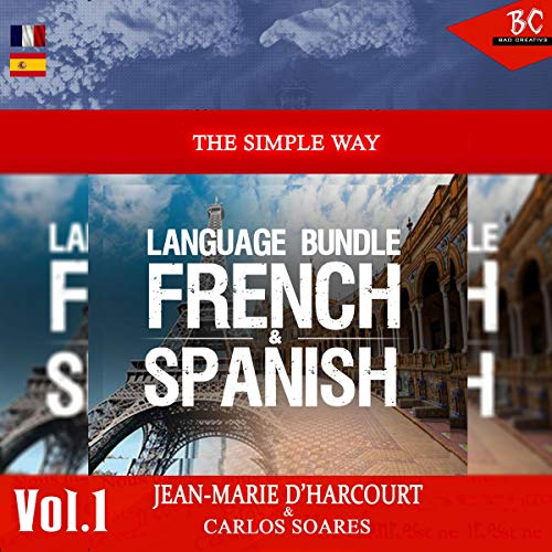 The Simple Way Language Bundle French & Spanish audiobook cover art