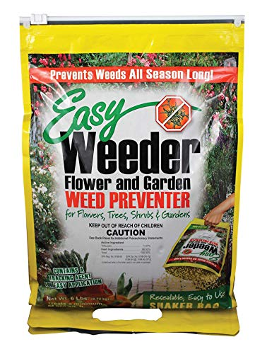 The Andersons Easy Weeder Garden Weed Preventer Pre-Emergent (Treflan/Trifluralin), Compare to Preen - Covers 960 sq. ft.