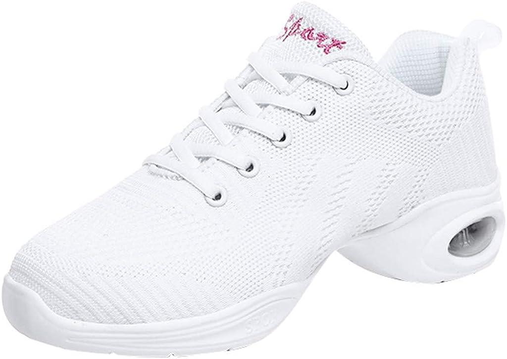 FIRERO Dance Shoes Women Modern Dance Jazz Shoes Soft Walking Shoes Air CushionSneakers