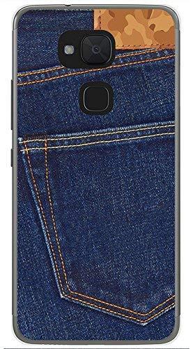 Tum&osmartphone Hülle Gel- TPU Hülle Für bq aquaris V/Vs Design Muster - Jeans