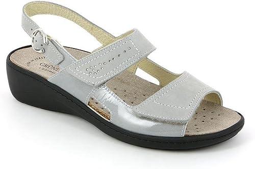 Grunland SE0156 Esta Sandalo damas P. gris 39