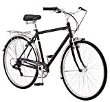 Schwinn Wayfarer Adult Bike Hybrid Retro-Styled Cruiser, 18-Inch/Medium Steel Step-Over Frame,...