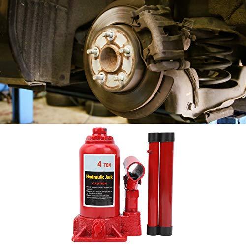 GOTOTOP Gato hidráulico, Gato hidráulico de 4 toneladas, Herramienta de reemplazo de neumáticos de reparación de elevación automática de automóviles Profesional portátil