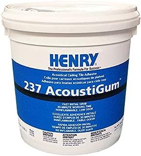 Henry, WW Company 12016 12016 GAL #237 Acou Adhesive