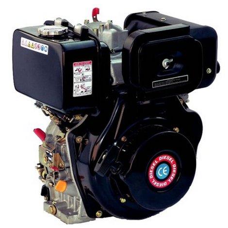 Sporen–Motor Diesel HL 186fa-e K1HP 9,6HaiLin Einzylinder 4-Takt-Luftmatratze Manueller Start