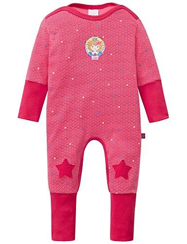 Schiesser AG Schiesser Baby-Mädchen Prinzessin Lillifee Anzug mit Vario Einteiliger Schlafanzug, Rot (pink 504), 56