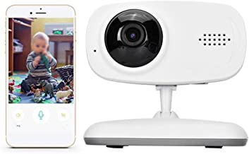 Simlug Video Baby Monitor with Camera and Audio, 720P HD WiFi IP Camera Baby Monitor Wireless Motion Detection Smart Camera(100-240v)