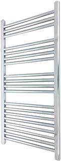 400 mm (w) x 1000 mm (h) - Piso Radiador toallero cromado horizontal Diámetro: 22 mm, Bar Modelo: 3 + 4 + 4 + 8