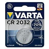 CR2032, Lithium, 3V, 230 mAh