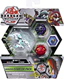 BAKUGAN 6058414 Starter Pack 3-Pack, Trox Ultra, Armoured Alliance Collectible Action Figures, Grey