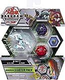 Bakugan Paquete de 3 Figuras de acción coleccionables Trox Ultra, Armadura Alliance