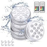 Chakev Submersible Pool Lights with Magnets,...