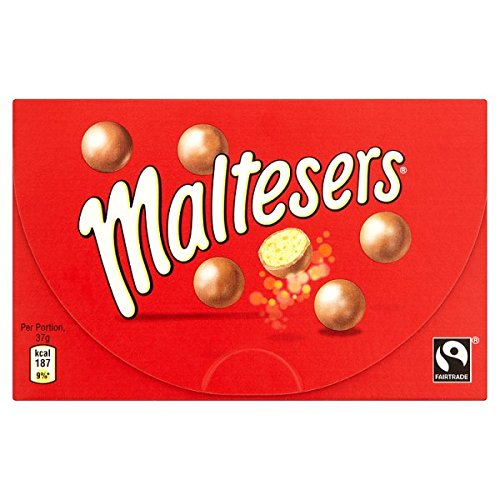 MALTESERS Fairtrade Box 120g (Pack de 16 x 120g)