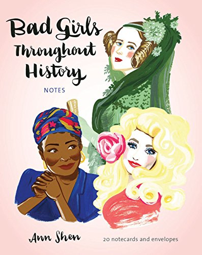 Bad Girls Throughout History Notecards: 20 notecards and envelopes