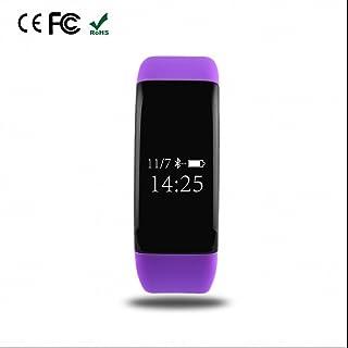 Pulsera Deportiva y Monitor de Ritmo Cardíaco,Fitness Tracker,Pulseras Actividad,Monitor de Actividad,Notificación de Mensaje,con Pódometro,Pulsera Inteligente con Pulsómetro,