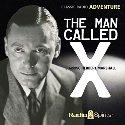 The Man Called X audiobook cover art