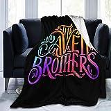 Fecvdlis The Avett Brothers Ultra Soft Micro Fleece Blanket Warm Flannel Throw Blanket 60'x50'
