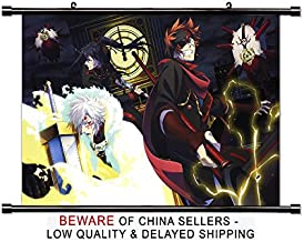 D Gray Man Hallow Anime Fabric Wall Scroll Poster (32x21) Inches