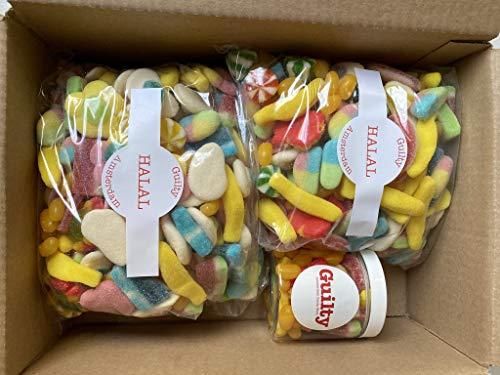 Guilty Candy Store – 3kg Halal Snoep Box – De lekkerste Snoepmix