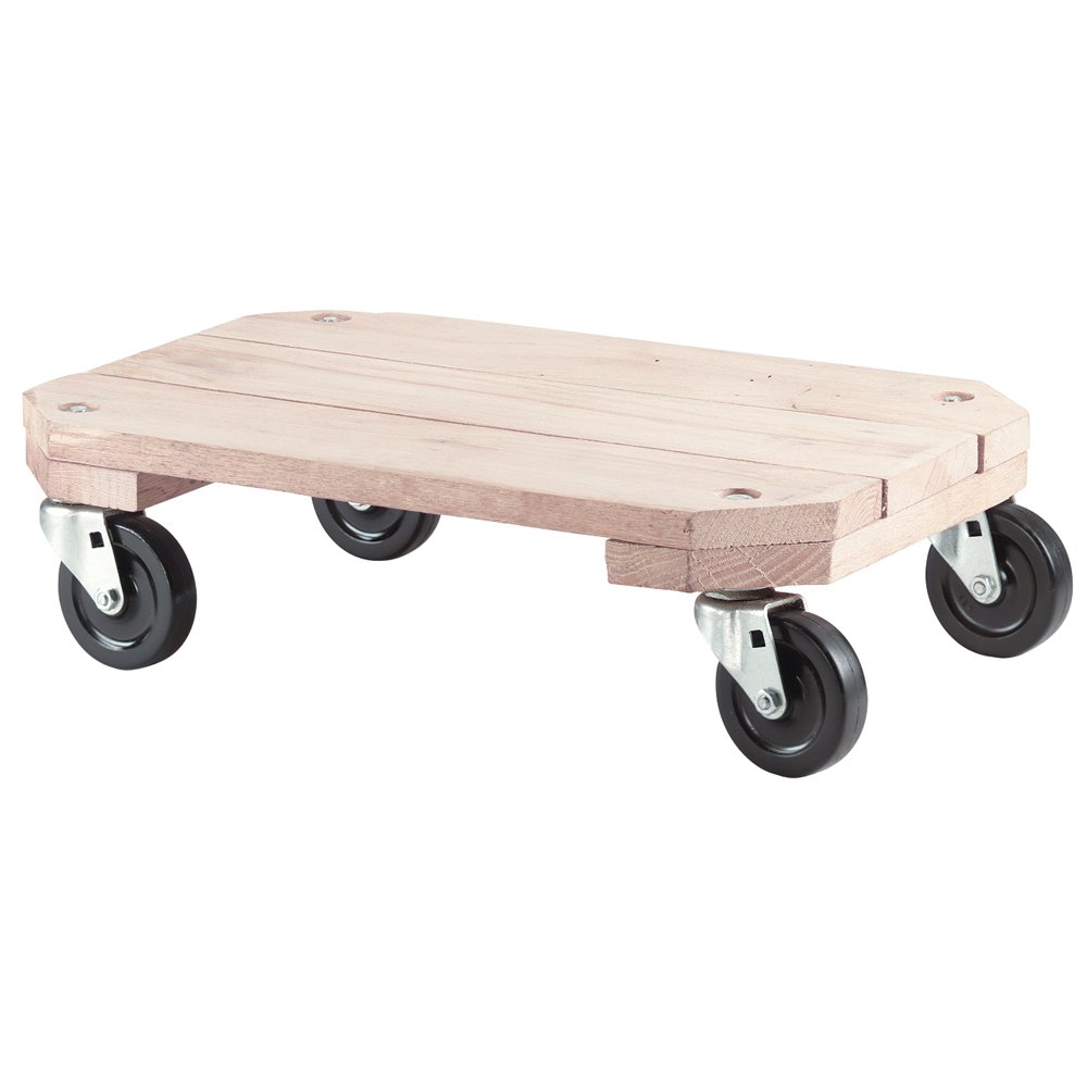 Shepherd Hardware Outstanding 9854 Solid Wood Our shop most popular x Plant 18-Inch 12-Inch Dolly