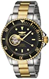 Invicta Men's Pro Diver Automatic-self-Wind Diving Watch with Stainless-Steel Strap, Two Tone, 20 (Model: 20438)