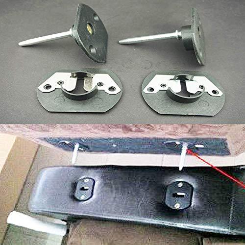 Pmsanzay Conector universal para sofá seccional, para sofá, sofá, seccional, conector de unión de un solo pin para reclinar/sofá, muebles, suites, paquete de 2