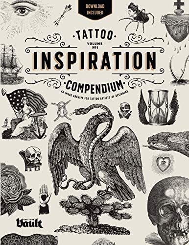 Tattoo Inspiration Compendium An Image Archive for Tattoo Artists and Designers product image