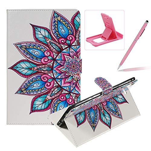 Sale!! Herzzer Wallet Leather Case for iPad Mini 1/2/3/4/5,Slim Multi-Angle View Folio Stand Premium...