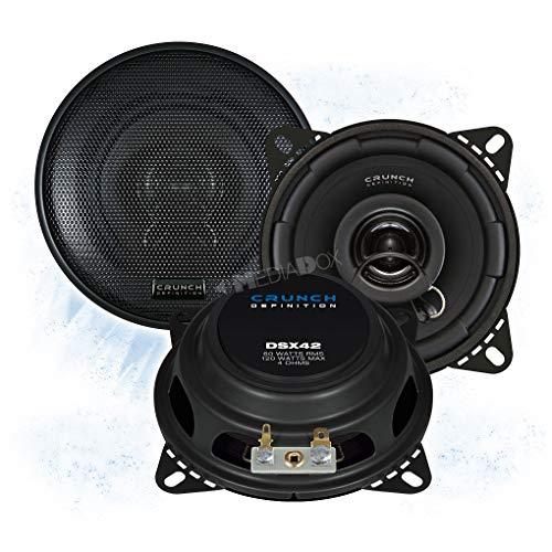 Crunch DSX42-10cm/100mm Auto Lautsprecher/Boxen/Speaker kompatibel für Mercedes
