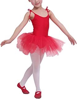 Buenos Ninos Girl's Leotard Ballet Clothes Tutus Dance Dress Kids Toddler Tights Costume Clothing Skirts