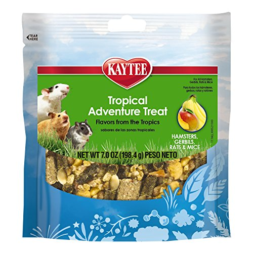 Kaytee Tropical Adventure Treat For Small Animals, 7 Ounce