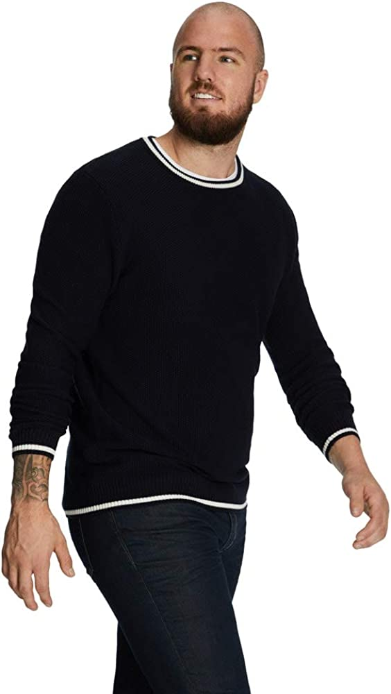 Johnny Bigg Big & Tall Archer Tipped Pullover