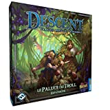 Giochi Uniti- Descent: Le Paludi dei Troll Runebound Gioco, Multicolore, GU156