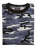 Mil-Tec EE.UU. Camiseta ligero camuflaje (Skyblue/4XL)