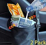 Organizador de bolsas de basura ajustable para el coche con...