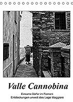 Valle Cannobina - Einsame Doerfer im Piemont (Tischkalender 2022 DIN A5 hoch): Entdeckungen unweit des Lago Maggiore (Monatskalender, 14 Seiten )