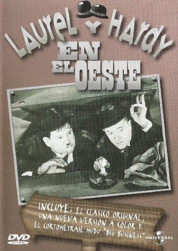 Laurel y Hardy en el Oeste [Internacional] [DVD]