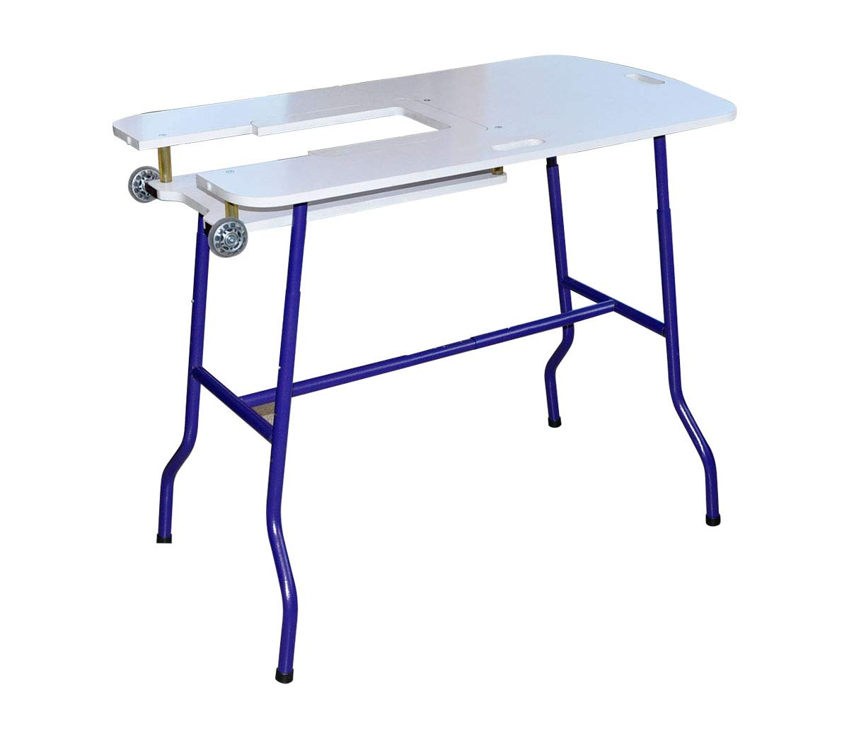 Sullivans Sew Go Adjustable Height Foldable Sewing Table By The