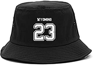 Sport Style Wyoming 23 Team State Jersey Bucket Hat