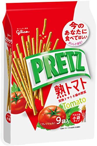 江崎グリコ プリッツ熟トマト(9袋) 134g ×6個