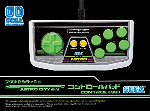 SEGA Astro City Mini Gamepad - Not Machine Specific