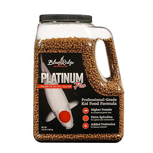Blue Ridge Fish Food Pellets [4.5lb], Koi and Goldfish...