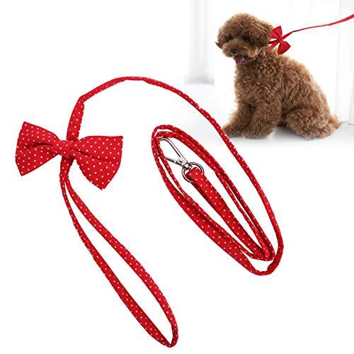 Correa para mascotas, cuerda para collar de perro y gato, correa para mascota con gancho para exteriores, correa de algodón para mascotas para exteriores, cuerda para collar de perro, correa para entr
