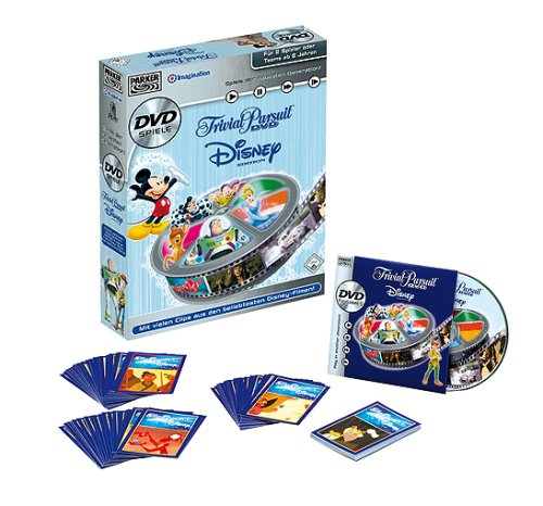 Hasbro - Parker 44743 Trivial Pursuit Disney DVD